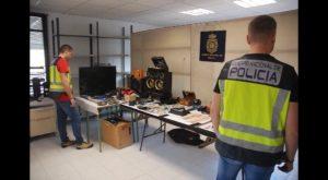 Una operación en el marco de la lucha contra la delincuencia itinerante