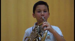 Alexandro García, el niño de 10 años virtuoso de la música