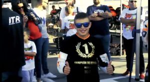 El joven piloto de Cox, Alberto Ferrández, candidato a Mejor Deportista Promesa provincial