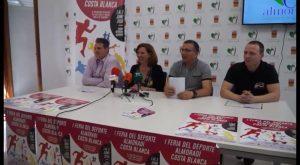 Almoradí presenta la I Feria del Deportes Almoradí Costa Blanca