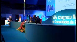 La modernización y financiación de regadíos, a debate en el XIV Congreso Nacional