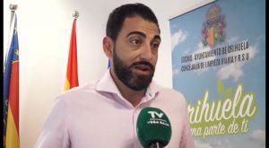 Los trabajadores de la limpieza de Orihuela podrían convocar una huelga para verano