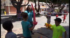 Benejúzar estrena la Toma del Castillo Infantil