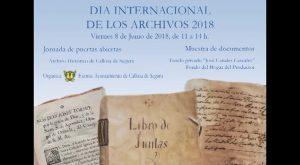 Callosa celebra por tercer año consecutivo el Día Internacional de los Archivos