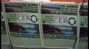 Nace la Plataforma Residuos Cero Vega Baja integrada por más de 20 organizaciones