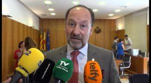 """El alcalde Emilio Bascuñana acusa a la oposición de someterlo a un """"linchamiento mediático"""""""
