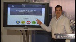 Orihuela será más accesible a través a una nueva plataforma web de Gobierno Abierto