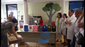 El Hospital Vega Baja, el primero de la Comunidad en incorporar carcasas infantiles solidarias
