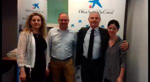La Caixa hace posible un proyecto educativo en el colegio Andrés Manjón y Ntra. Sra. De Belén