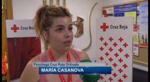 Cruz Roja sale a la calle para sensibilizar a la población sobre la prevención en la Ola de Calor