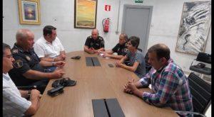 Venta ilegal y tortugas marinas centran la reunión de seguridad entre Torrevieja, Orihuela y Pilar