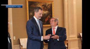 El Rey recibe en Zarzuela al Comité del Congreso Nacional de regantes celebrado en Torrevieja