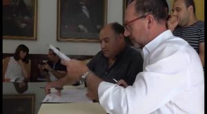 Orihuela firma convenio con Benferri para que Protección Civil actúe en caso de emergencia y seguridad