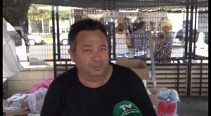 El cambio de ubicación del mercado de los martes de Orihuela divide a los comerciantes