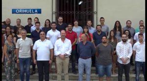 65 jóvenes se incorporan a trabajar durante un año en el Ayuntamiento de Orihuela