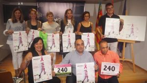 Orihuela celebra el 21 de octubre la II Marcha y Carrera Contra el Cáncer de Mama