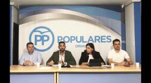 Todo listo para nombrar al candidato del PP en Orihuela