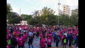 Más de 2.000 personas se dan cita en la II carrera contra el cáncer de mama de Orihuela