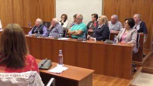 Los usuarios del Centro de Mayores Virgen de Monserrate celebran el Día de las Personas de Edad