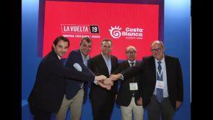 Diputación presenta en el marco de la WTM de Londres la Vuelta ciclista a España