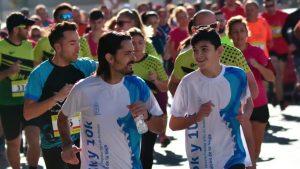 Por primera vez se celebra en la Vega Baja una carrera para personas con diversidad funcional