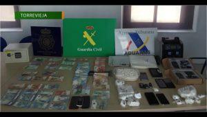 De Torrevieja a la mitad sur del país: así distribuía la droga una presunta organización criminal
