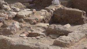 Descubren restos de hasta el siglo XII al iniciar una obra en el casco antiguo