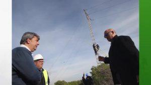 Comienzan los trabajos para retirar 3.500 metros de cables y torres del parque Alfonso XIII