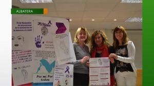 Albatera celebra las IV Jornadas Contra la Violencia de Género
