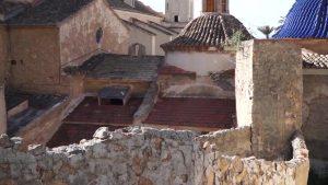 Descubren que un muro del Santuario de Monserrate podría ser parte de la muralla de Orihuela