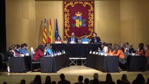 Los escolares de Orihuela celebran la XI edición del Pleno Infantil