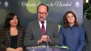 Orihuela presenta su programación navideña