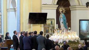 Torrevieja vive con devoción la procesión en honor a la Purísima