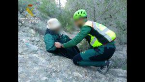 La Guardia Civil encuentra a una mujer de 91 años desaparecida en sierra de Orihuela