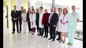 La Consellera de Sanidad visita el Hospital Universitario de Torrevieja en Nochebuena
