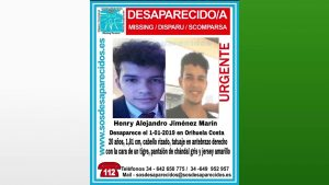 Buscan a un joven desaparecido en Orihuela Costa
