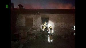 Incendio en una casa abandonada de Almoradí