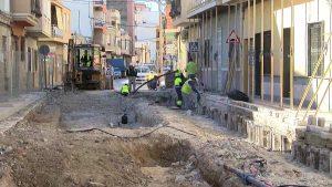 Las obras de la calle Salitre acabarán a principios de febrero