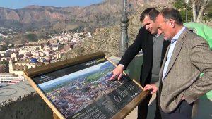Nueva imagen del mirador del monte de San Miguel