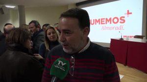 La consellera Ana Barceló hace balance en un acto de partido en Almoradí