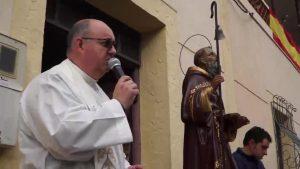 San Antón cumple con su cita con los animales en Orihuela