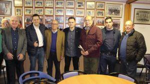 El periodista Tomás Roncero visita Pilar de la Horadada y conoce sus instalaciones deportivas