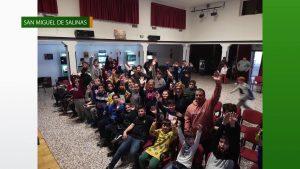 Éxito de las jornadas de videojuegos en San Miguel de Salinas