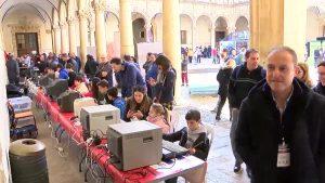 El Colegio Diocesano Santo Domingo bate récord: recoge 15.200 kg de alimentos en un solo día