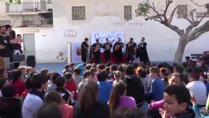 El Colegio Virgen de la Puerta acerca la música local a los alumnos como proyecto educativo