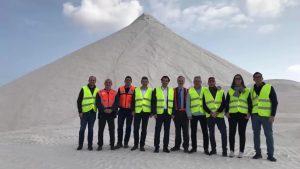 La salida de la Vuelta Ciclista 2019 se realizará desde una de las montañas de sal de Torrevieja