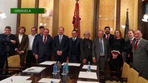 UEPAL celebra su primer Comité Ejecutivo en Orihuela y reivindica inversiones en infraestructuras