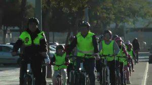 Pilar de la Horadada pone en marcha el proyecto «En bici al cole»