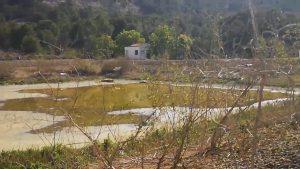 Benejúzar sella y acondiciona la antigua depuradora de lagunaje situada en la sierra