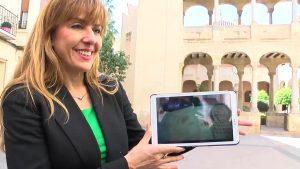 Turismo oriolano dentro de una tablet